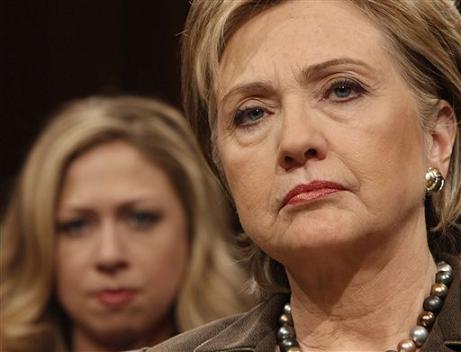 APTOPIX Clinton Confirmation